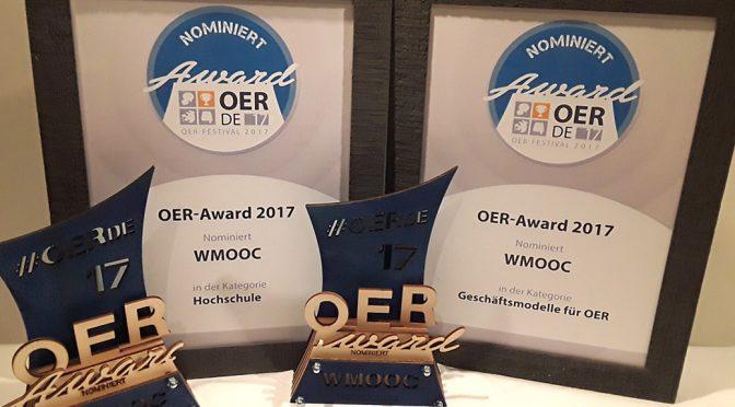 OER Award -Pokal